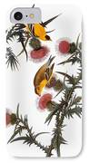 Audubon: Goldfinch IPhone Case