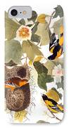 Audubon: Oriole IPhone Case