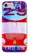 Austin Healey Bugeye IPhone Case by Naxart Studio