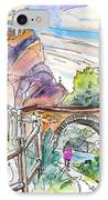 Autol In La Rioja Spain 02 IPhone Case by Miki De Goodaboom