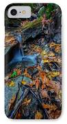 Autumn At A Mountain Stream IPhone Case by Rick Berk