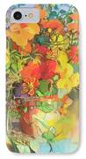 Autumn Flowers  IPhone Case by Claire Spencer