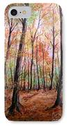 Autumn Forrest IPhone Case