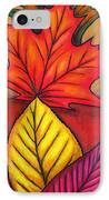 Autumn Glow IPhone Case by Lisa  Lorenz