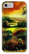 Autumn In Our Village Ardennes IPhone Case