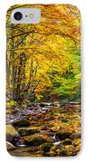 Autumn Landscape IPhone Case by Evgeni Dinev