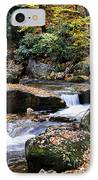 Autumn Rushing Mountain Stream IPhone Case by Thomas R Fletcher