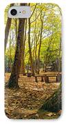 Autumn Scenery IPhone Case by Carlos Caetano