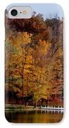 Autumn Trees IPhone Case by Sandy Keeton