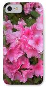 Azalea Watercolor  IPhone Case by Fred Jinkins