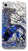 Azul Diablo IPhone Case by J R Seymour