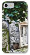 Back Alley Living IPhone Case by Janet Fikar