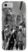 Badgers IPhone Case by David Bearden
