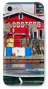 Bailey Island Lobster Pound IPhone Case by Susan Cole Kelly