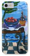 Balcony By The Mediterranean Sea IPhone Case