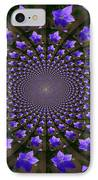 Balloon Flower Kaleidoscope IPhone Case