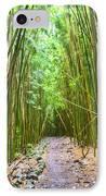 Bamboo Forest Trail Hana Maui 2 IPhone Case