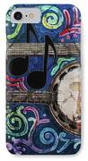 Banjos IPhone Case by Sue Duda