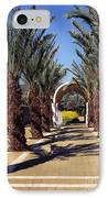 Baptism Site Of Christ On The Jordan River IPhone Case by Thomas R Fletcher