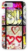 Barcelona Graffiti Wall  IPhone Case