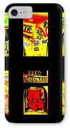 Barcelona Store Fronts IPhone Case by Funkpix Photo Hunter