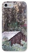 Barn At Cades Cove IPhone Case