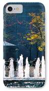 Barney Allis Plaza-kansas City IPhone Case