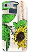 Barrio Sunflower IPhone Case by Sarah Loft