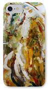 Bathed In Gold IPhone Case by Laurie Pace