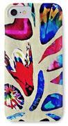 Batik Bouquet IPhone Case