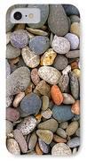 Beach Stones And Pebbles IPhone Case by Sophie De Roumanie