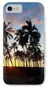 Beach Sunset IPhone Case by Mike Reid