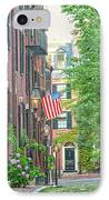 Beacon Hill IPhone Case by Susan Cole Kelly