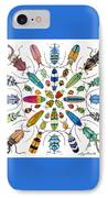 Beautiful Beetles IPhone Case
