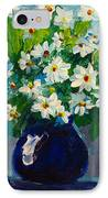 Beautiful Daisies  IPhone Case by Patricia Awapara