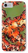 Beautiful Soft Cora 1 IPhone Case by Lanjee Chee