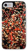 Beautiful Soft Coral 3 IPhone Case by Lanjee Chee