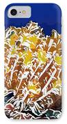 Beautiful Yellow Coral 1 IPhone Case by Lanjee Chee