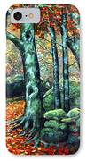 Beech Woods IPhone Case