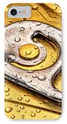 Beer Can Pull Tab IPhone Case by Tom Mc Nemar