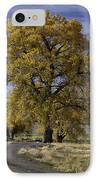 Belfry Fall Landscape 5 IPhone Case