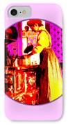 Bessie Goodell Clark At Her Wehrle Stove IPhone Case by Eikoni Images
