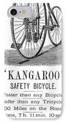 Bicycle Ad, 1885 IPhone Case by Granger
