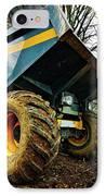 Big Bad Dumper Truck IPhone Case by Meirion Matthias