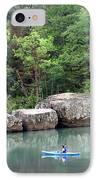Big Piney Creek 1 IPhone Case by Marty Koch