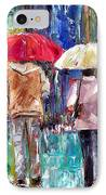 Big Red Umbrella IPhone Case