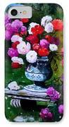 Big Vase With Peonies IPhone Case