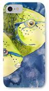 Bignose Unicornfish IPhone Case by Tanya L Haynes - Printscapes