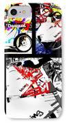 Biking In Barcelona IPhone Case