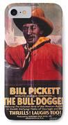 Bill Pickett (1870-1932) IPhone Case by Granger